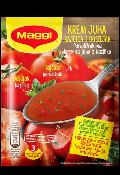 упа од домати со босилек